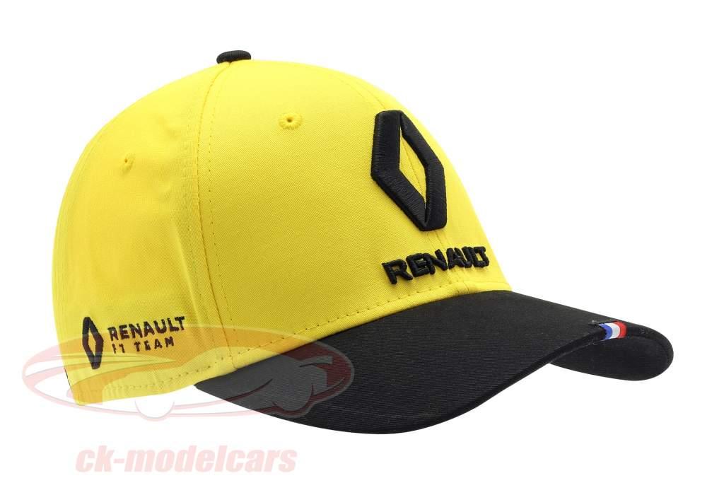Boné Renault F1 Team 2019 #27 Hülkenberg amarelo / Preto / Branco Tamanho M / L