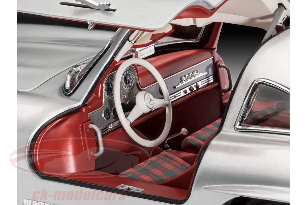 Mercedes-Benz 300 SL Kit argento 1:12 Revell