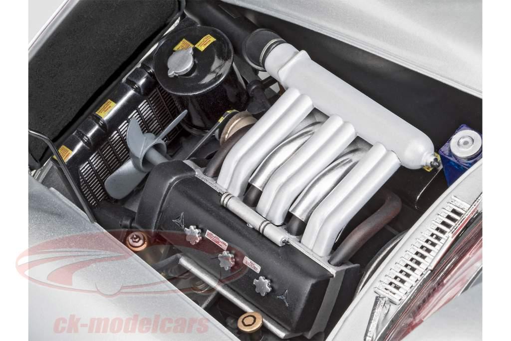 Mercedes-Benz 300 SL Kit sølv 1:12 Revell