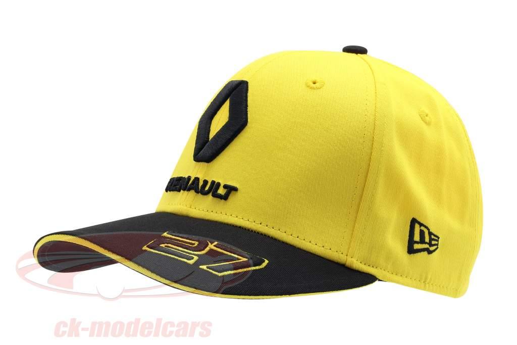 Cap Renault F1 Team 2019 #27 Hülkenberg amarillo / negro Talla M / L