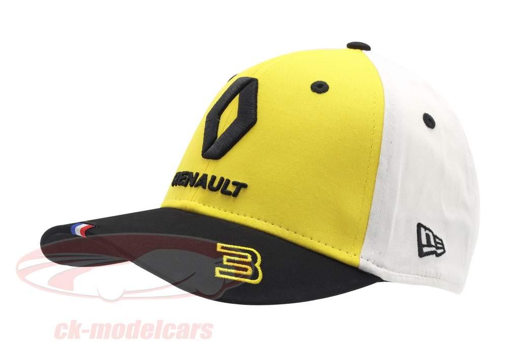 Cap Renault F1 Team 2019 #3 Ricciardo giallo / nero / bianca dimensione M / L