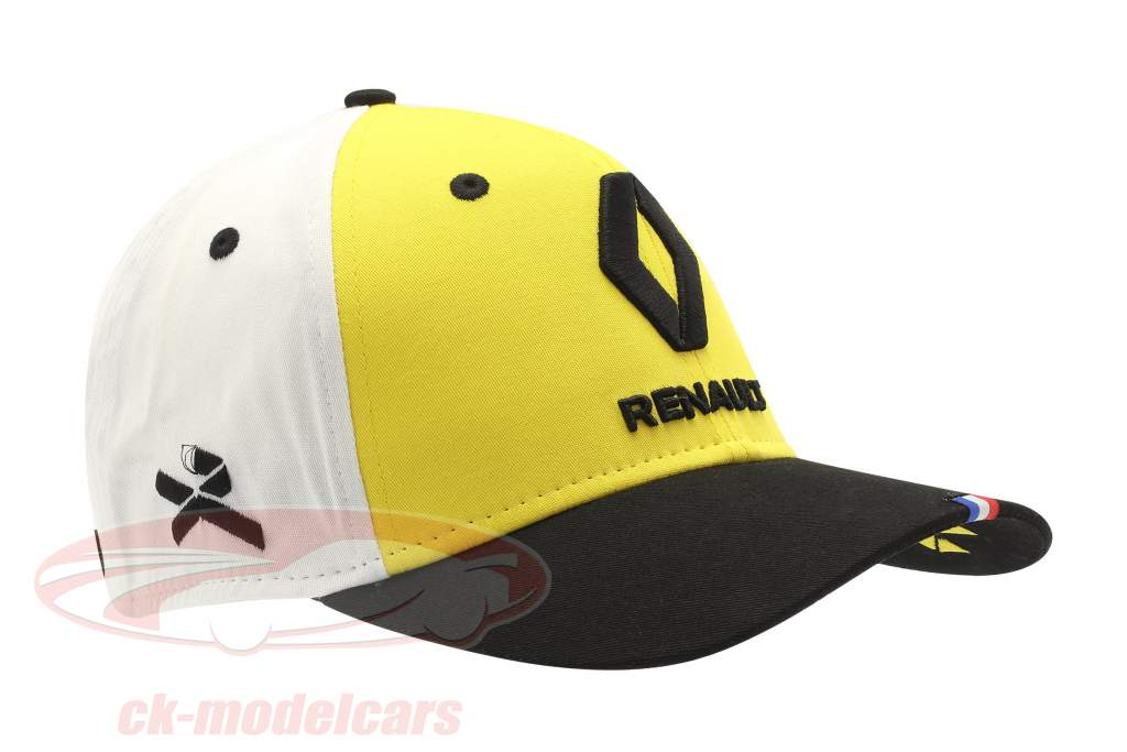 Cap Renault F1 Team 2019 #3 Ricciardo amarelo / Preto / Branco Tamanho M / L