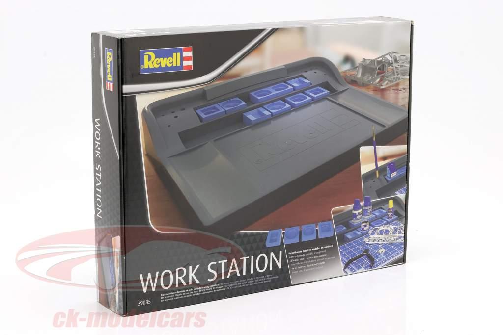 Trabalhos estação cinza / azul Revell
