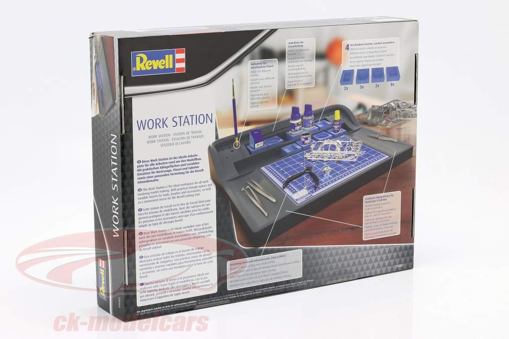 Travail gare gris / bleu Revell