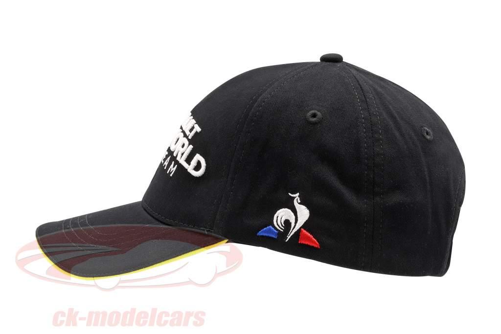 Cappellino Renault DP World F1 Team, nero