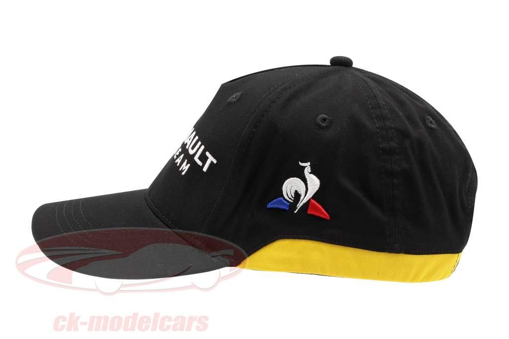 Cap Renault F1 Team noir / jaune (Adultes)