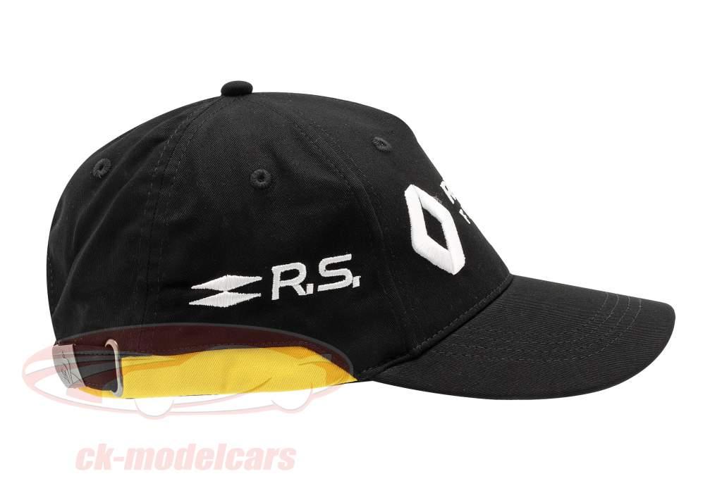 Cap Renault F1 Team zwart / geel (Volwassenen)