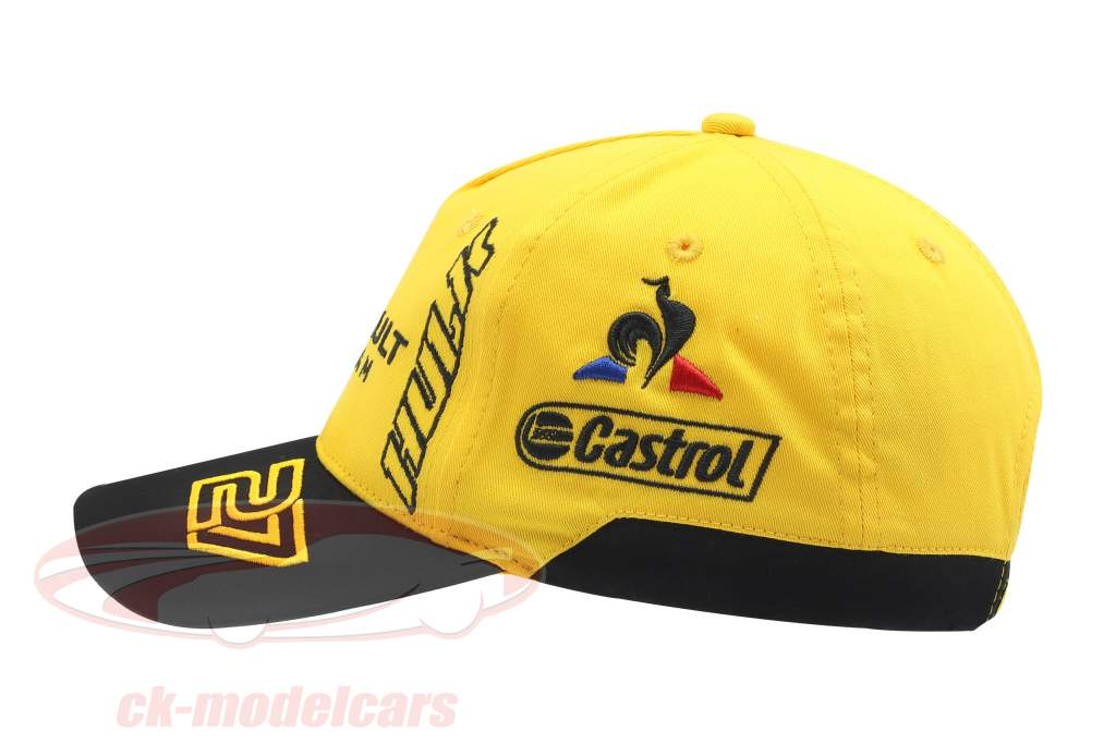 Cap Renault F1 Team 2019 #3 Ricciardo #27 Hülkenberg giallo / nero (Bambini)