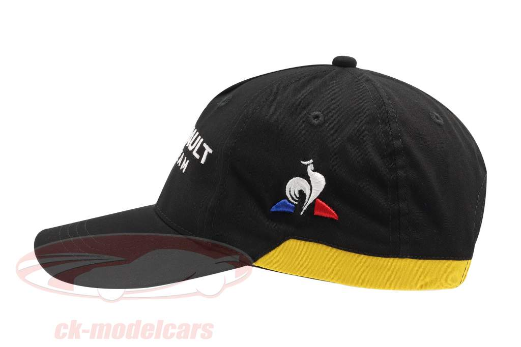 Cap Renault F1 Team zwart / geel (Kinderen)