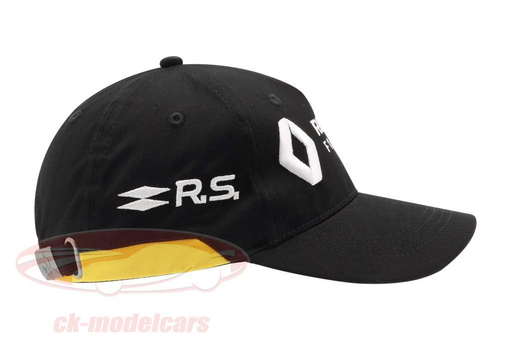 Cap Renault F1 Team noir / jaune (Enfants)
