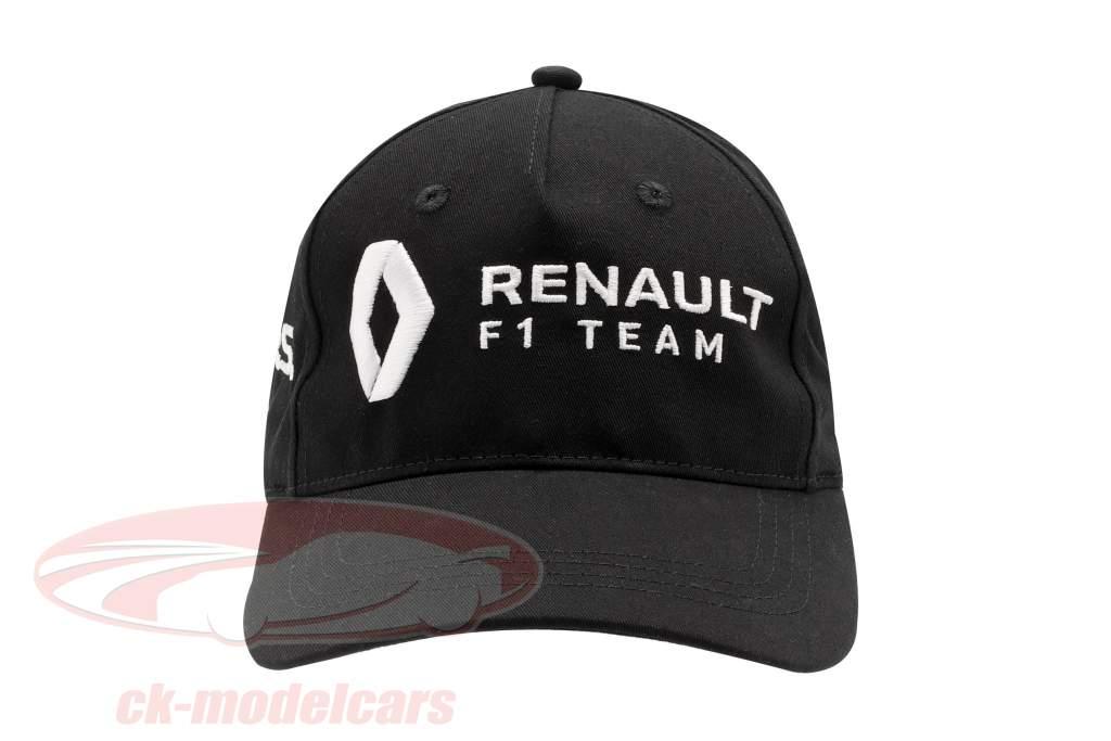 Cap Renault F1 Team nero / giallo (Bambini)