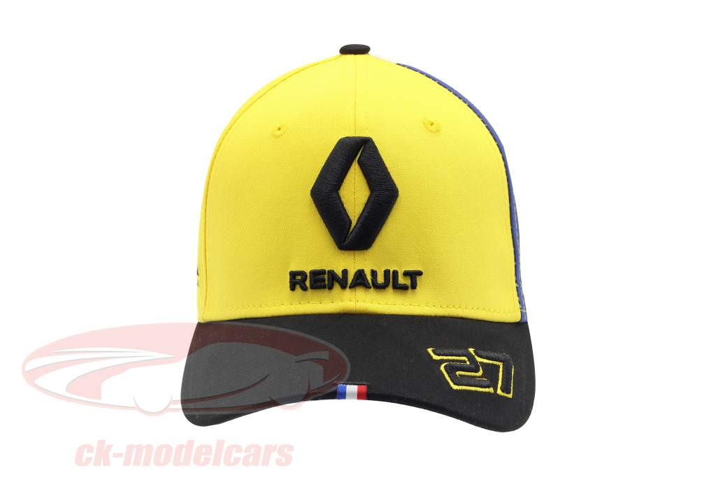 Cap Renault F1 Team 2019 #27 Hülkenberg yellow / black / white size M / L