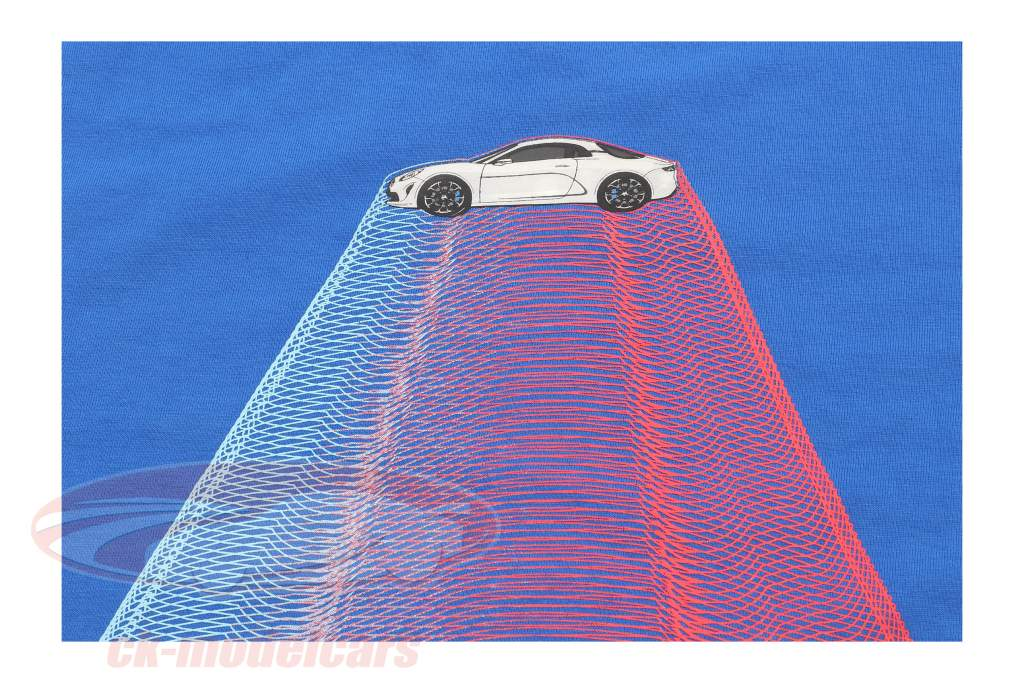 Alpine La vida Camiseta de manga corta Espacio