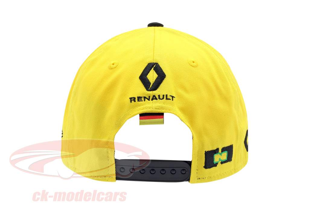 Cap Renault F1 Team 2019 #27 Hülkenberg giallo / nero dimensione M / L