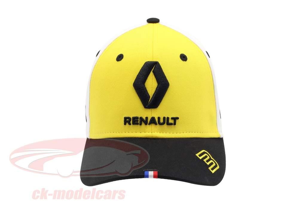 Cap Renault F1 Team 2019 #3 Ricciardo jaune / noir / blanc Taille M / L
