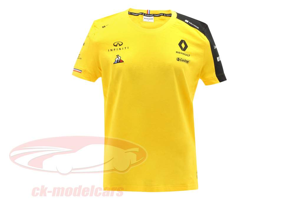 Renault F1 Team Kvinder T-shirt formel 1 2019 #3 Daniel Ricciardo