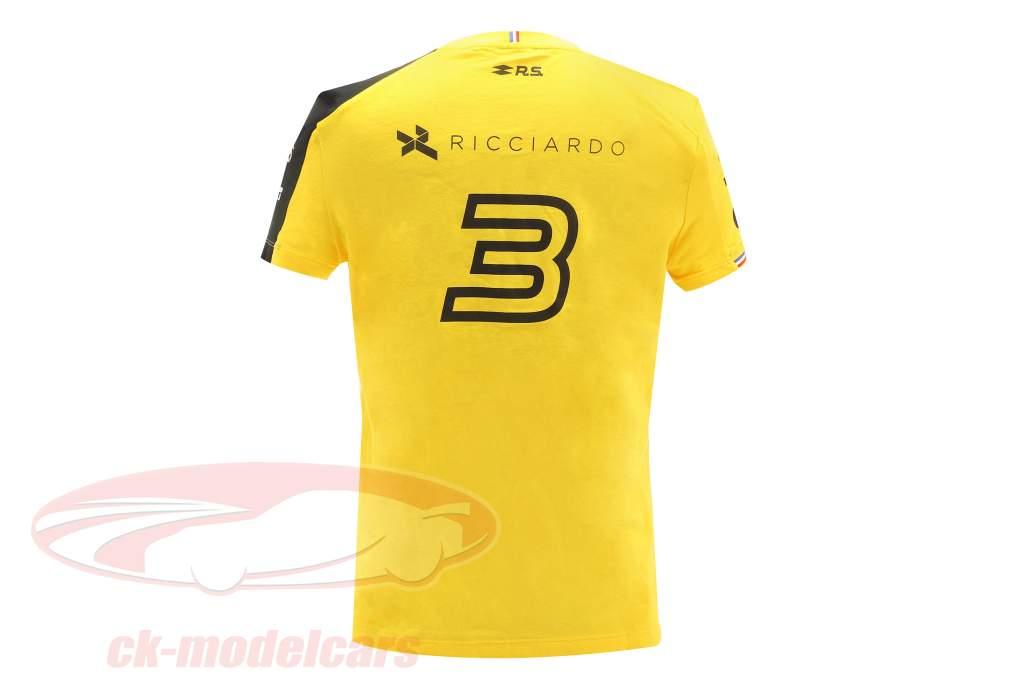 Renault F1 Team Women T-shirt formula 1 2019 #3 Daniel Ricciardo