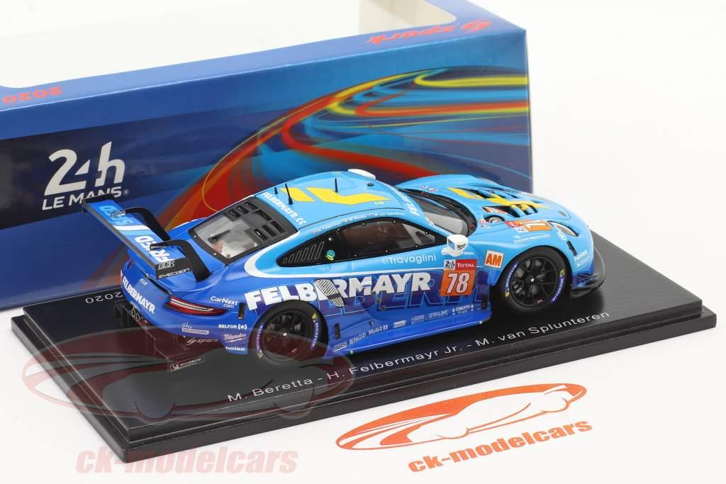 Porsche 911 RSR #78 24h LeMans 2020 Proton Competition 1:43 Spark
