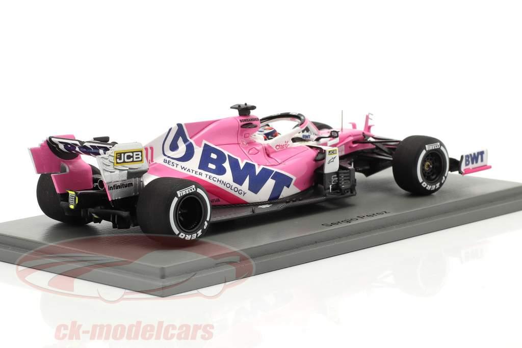 Sergio Perez Racing Point RP20 #11 Belga GP fórmula 1 2020 1:43 Spark