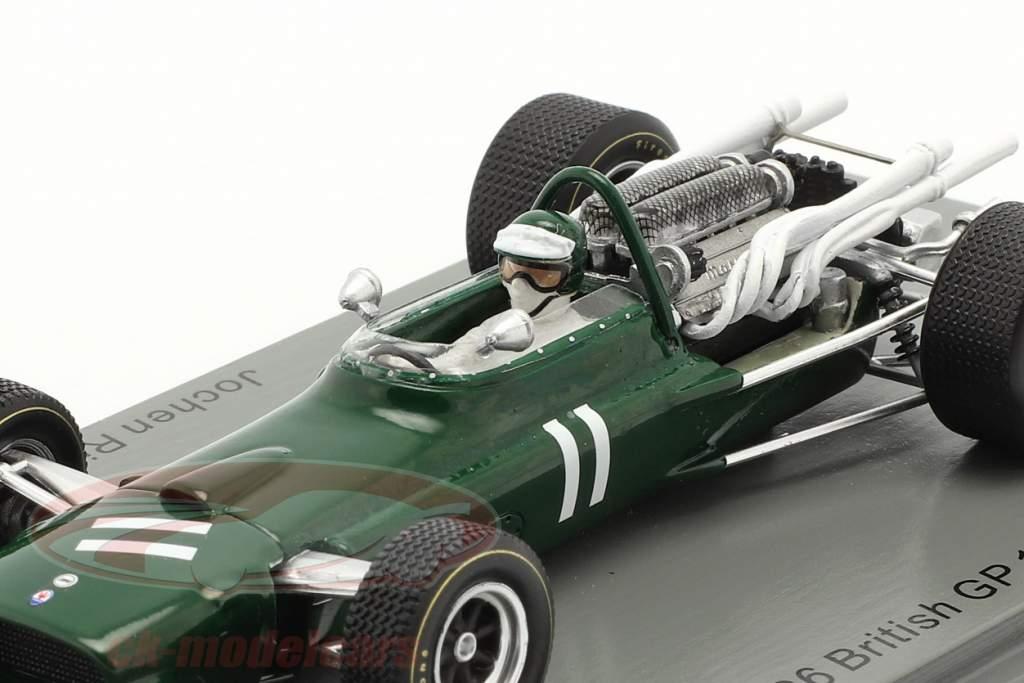 Jochen Rindt Cooper T86 #11 Brits GP formule 1 1967 1:43 Spark