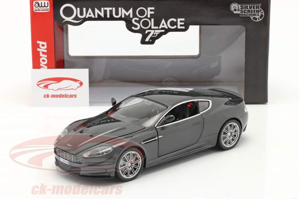 Aston Martin DBS Película James Bond 007 A Cuántico Consuelo 2008 1:18 AutoWorld