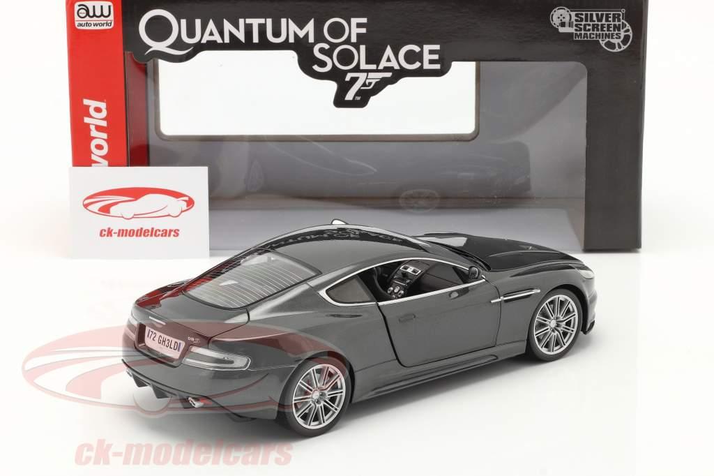 Aston Martin DBS 映画 James Bond 007 A 量子 慰め 2008 1:18 AutoWorld