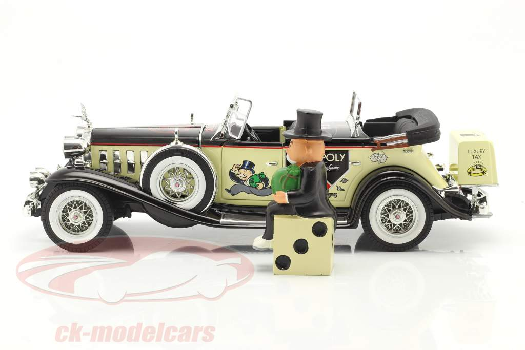 Cadillac V16 Sport Phaeton Année de construction 1932 Avec M. monopole chiffre 1:18 AutoWorld