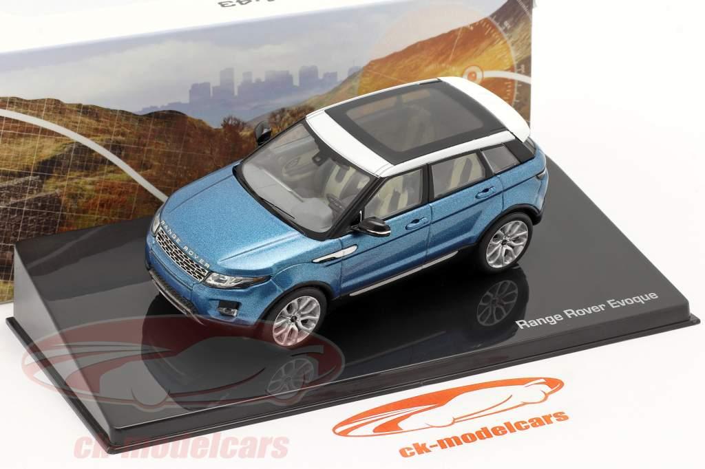 Land Rover Range Rover Evoque 5 porte mauritius blu 1:43 Ixo
