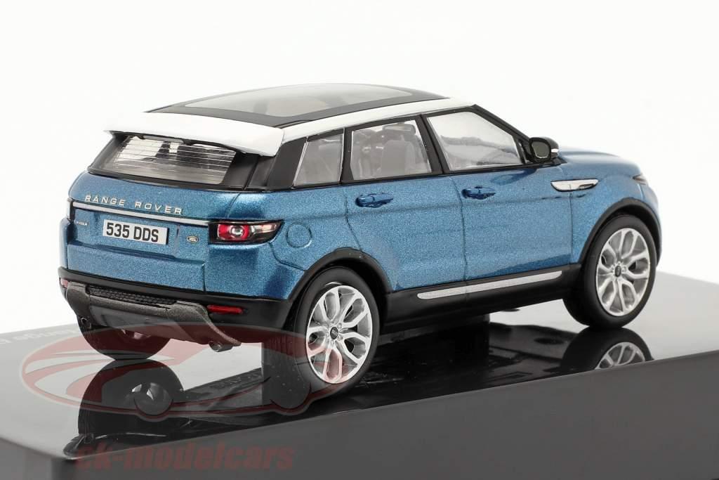 Land Rover Range Rover Evoque 5-dørs mauritius blå 1:43 Ixo