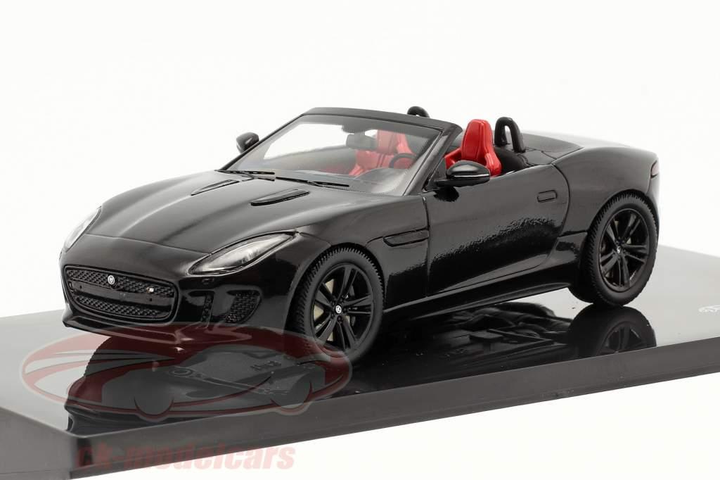 Jaguar F-Type V8-S Byggeår 2013 sort 1:43 Ixo