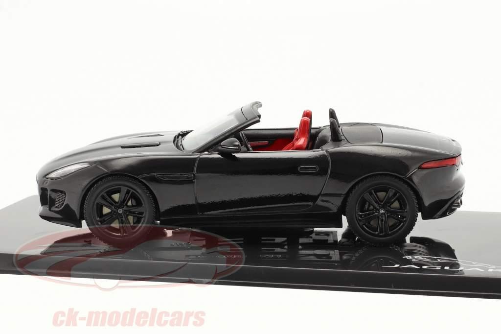 Jaguar F-Type V8-S bouwjaar 2013 zwart 1:43 Ixo