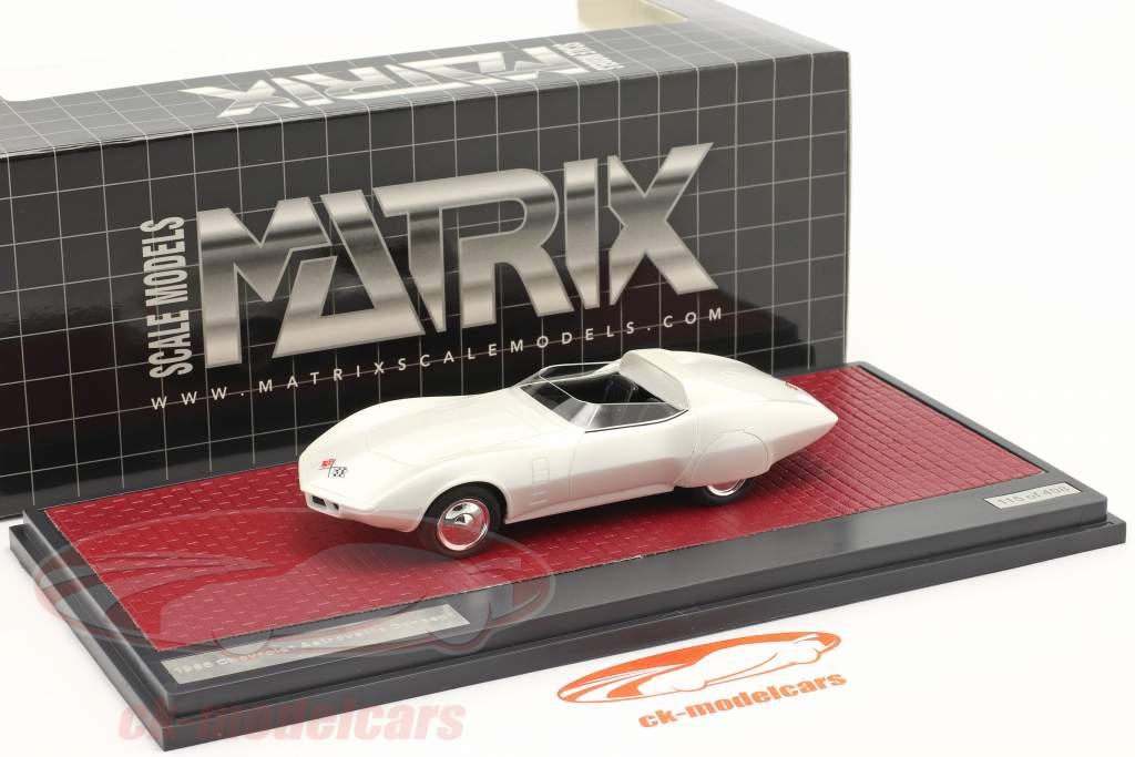 Chevrolet Astrovette Concept Car 1968 Branco 1:43 Matrix