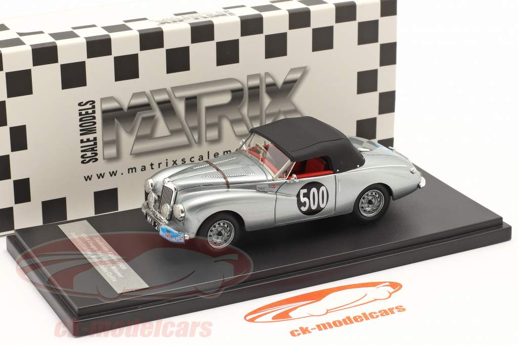 Sunbeam Alpine #500 Rallye des Alpes 1954 Moss, Cutts 1:43 Matrix