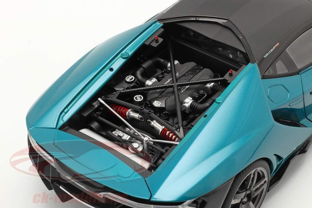 Lamborghini Centenario year 2016 artemis green 1:18 AUTOart