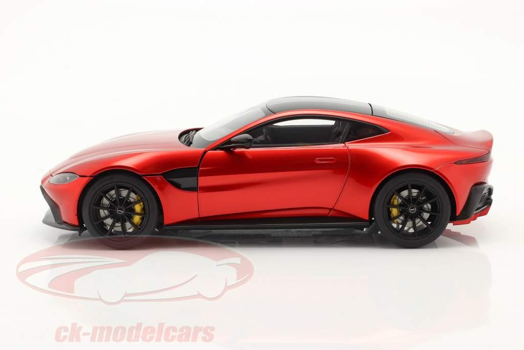 Aston Martin Vantage Año de construcción 2019 hyper rojo 1:18 AUTOart