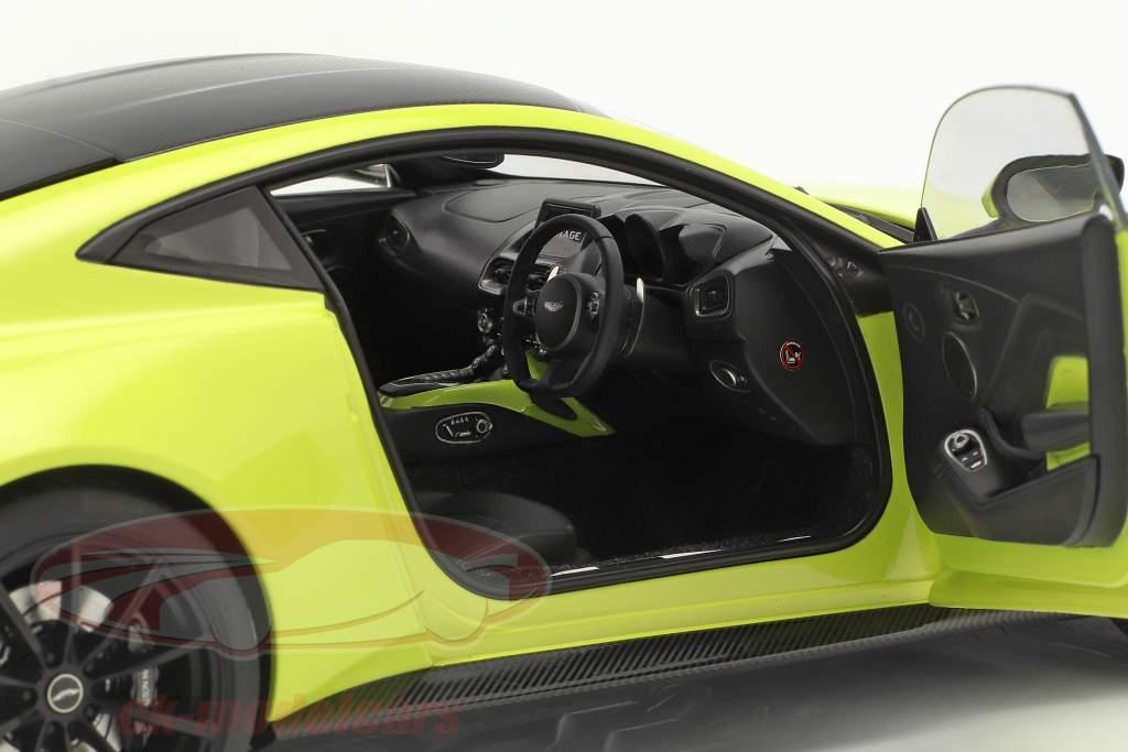 Aston Martin Vantage 建設年 2019 ライム 緑 1:18 AUTOart