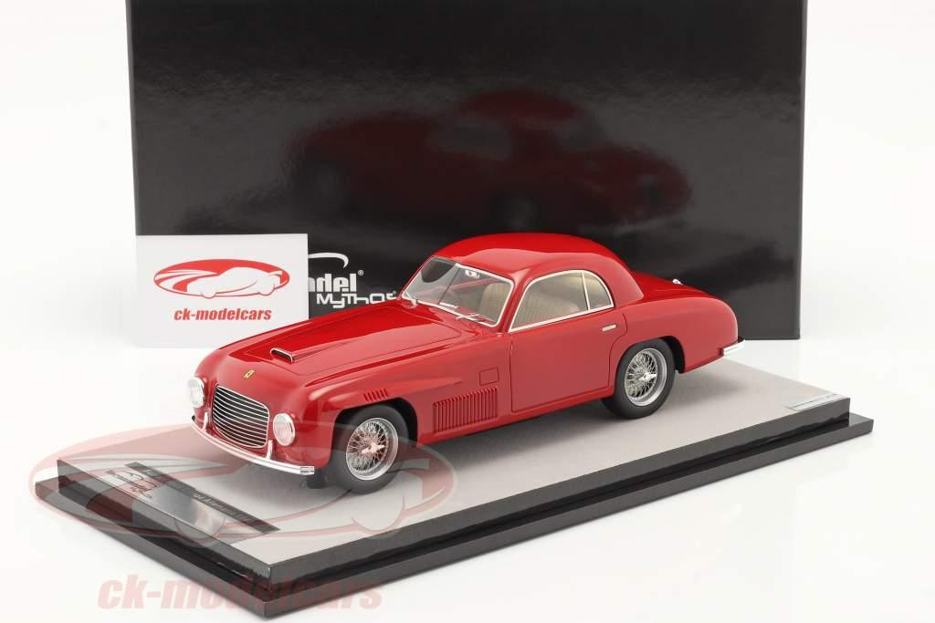 Ferrari 166S Coupe Allemano Versión de calle 1948 rojo 1:18 Tecnomodel