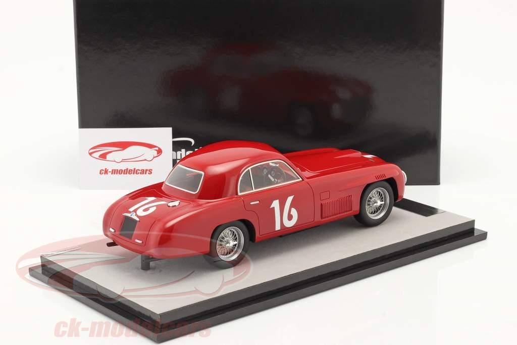 Ferrari 166S Coupe Allemano #16 gagnant Mille Miglia 1948 1:18 Tecnomodel
