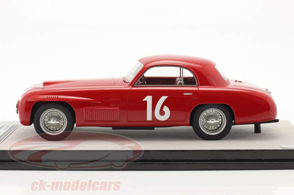 Ferrari 166S Coupe Allemano #16 vincitore Mille Miglia 1948 1:18 Tecnomodel