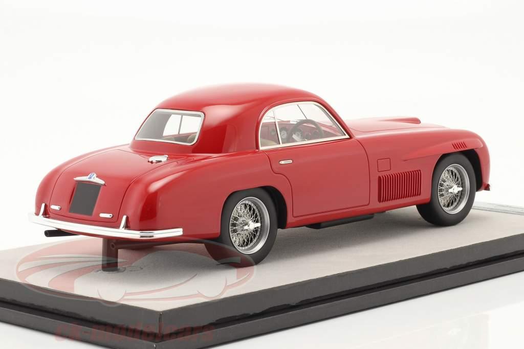 Ferrari 166S Coupe Allemano Straatversie 1948 rood 1:18 Tecnomodel