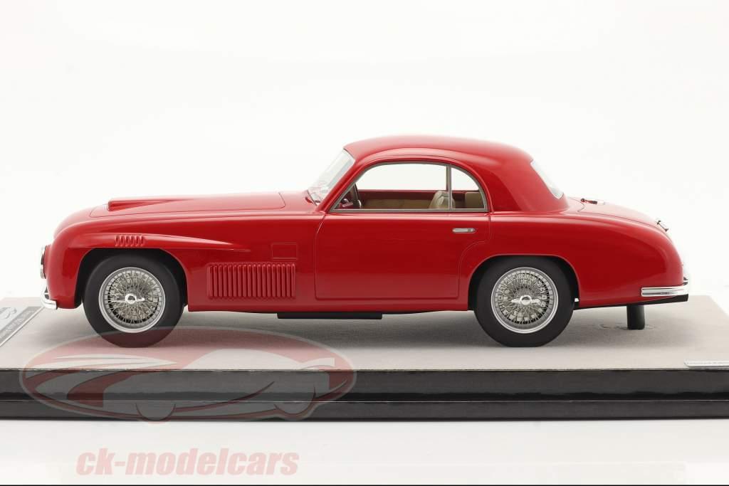 Ferrari 166S Coupe Allemano Straßenversion 1948 rot 1:18 Tecnomodel