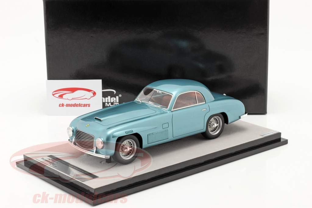 Ferrari 166S Coupe Allemano Straßenversion 1948 blau metallic 1:18 Tecnomodel