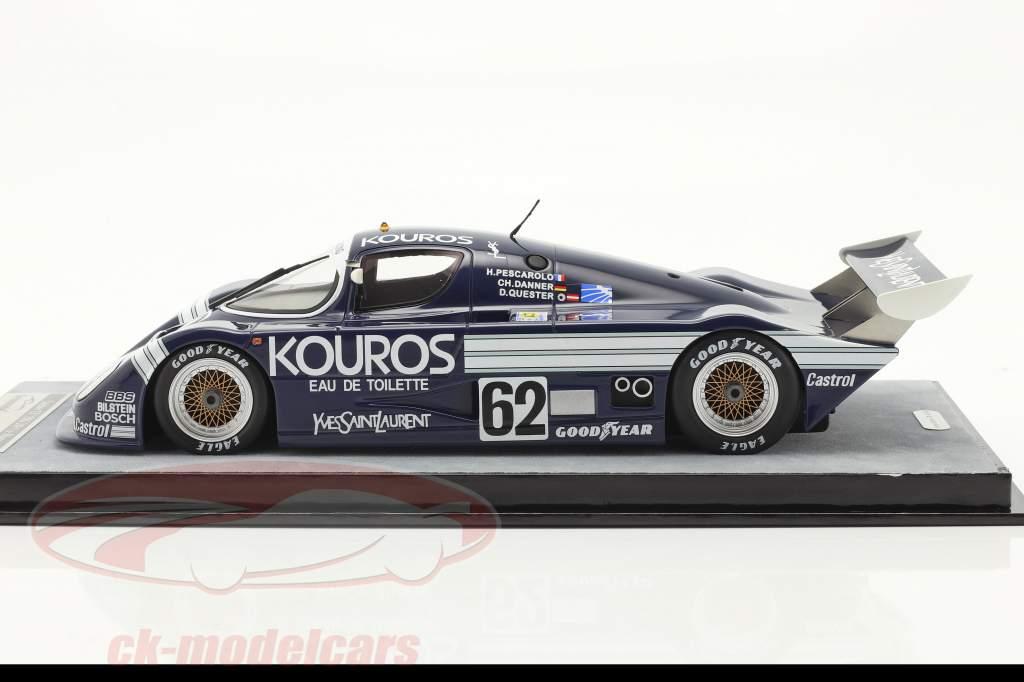 Sauber C8 #62 24h LeMans 1986 Quester, Pescarolo, Danner 1:18 Tecnomodel