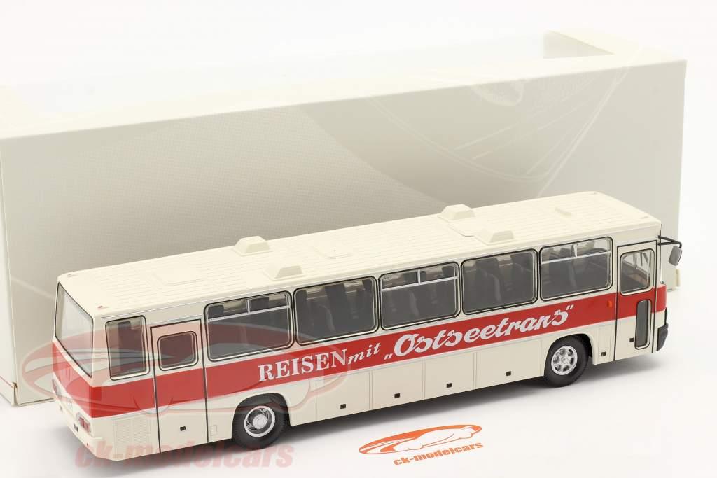 Ikarus 250.59 Entraîneur Ostseetrans blanc / rouge 1:43 Premium ClassiXXs