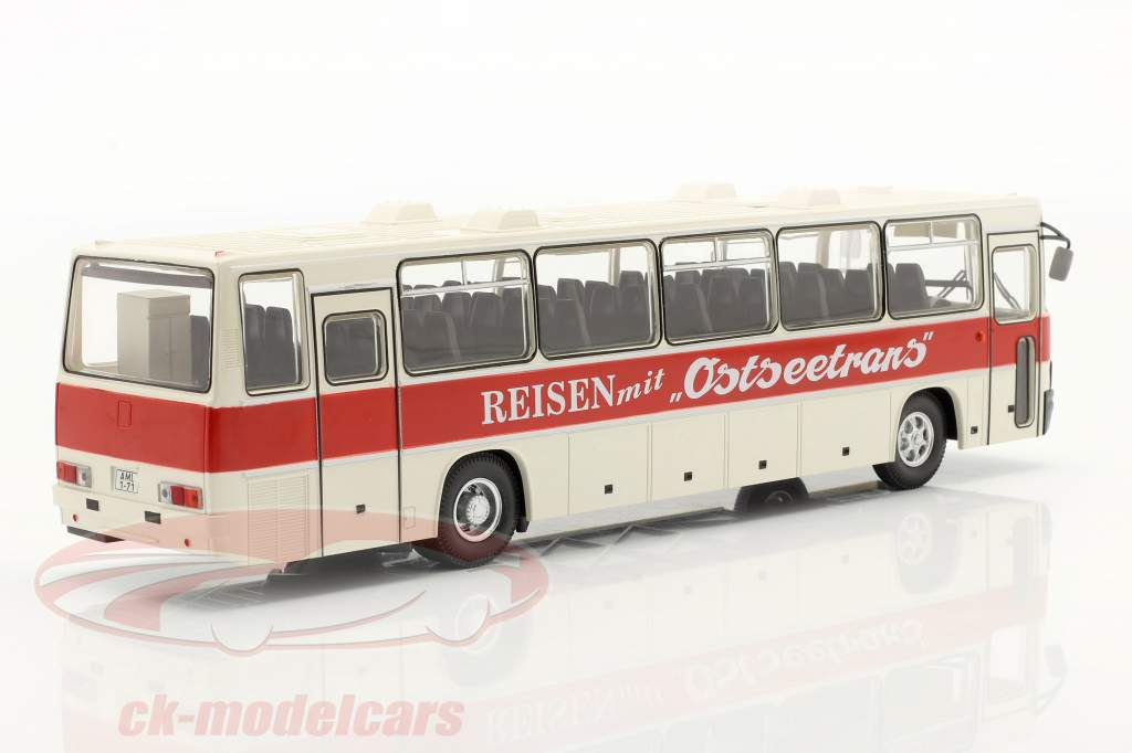 Ikarus 250.59 Allenatore Ostseetrans bianca / rosso 1:43 Premium ClassiXXs
