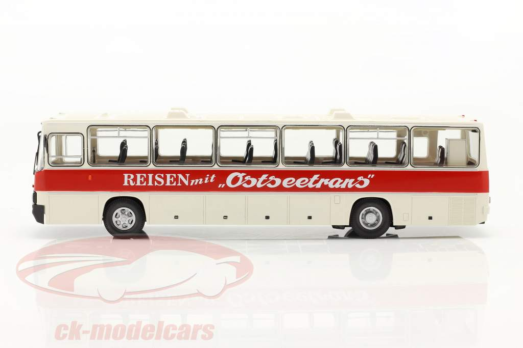 Ikarus 250.59 Trainer Ostseetrans Wit / rood 1:43 Premium ClassiXXs