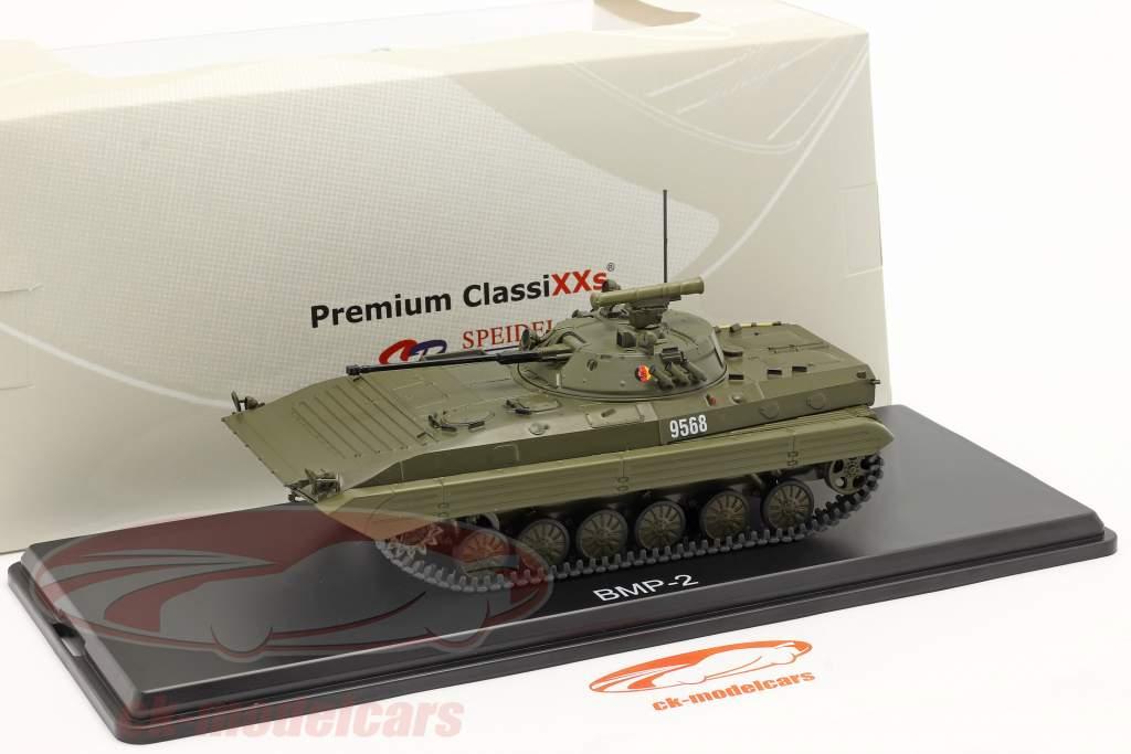 BMP-2 tanque NVA (RDA) aceituna oscura 1:43 Premium ClassiXXs