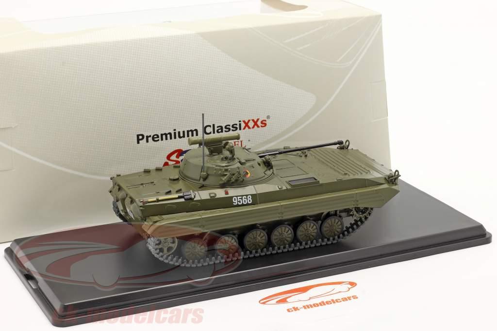 BMP-2 tank NVA (DDR) donkere olijf 1:43 Premium ClassiXXs