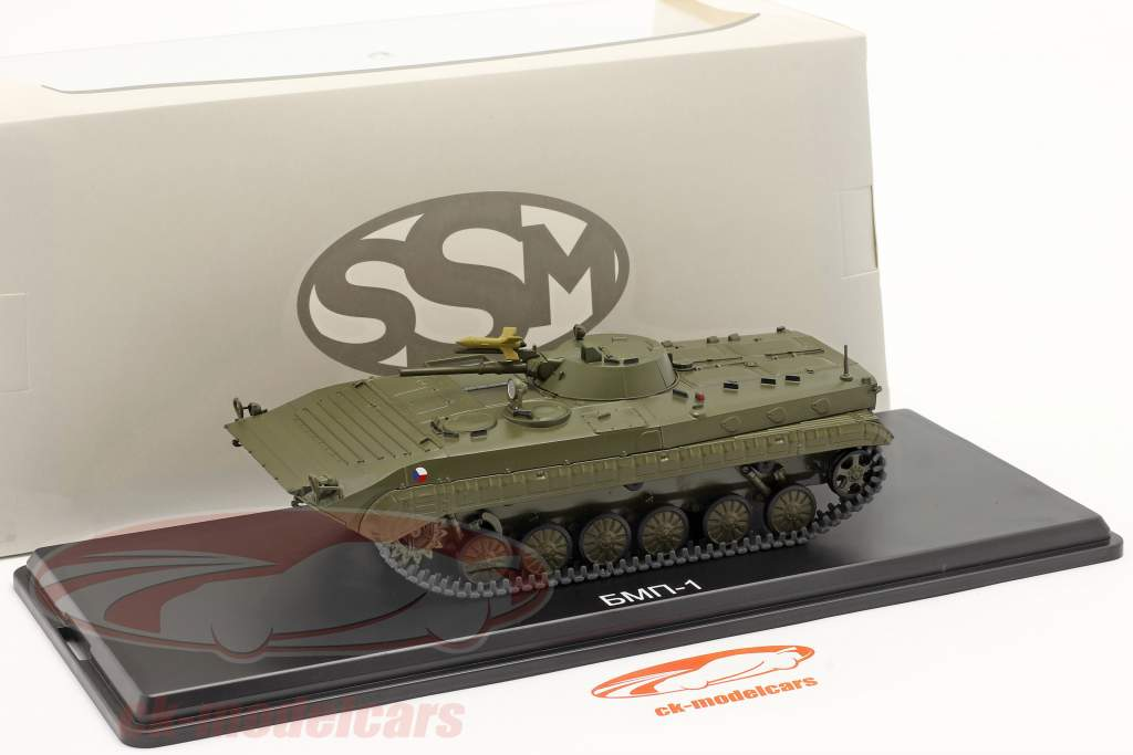 BMP-1 military (CZ) Armored personnel carriers dark olive 1:43 Start Scale Models