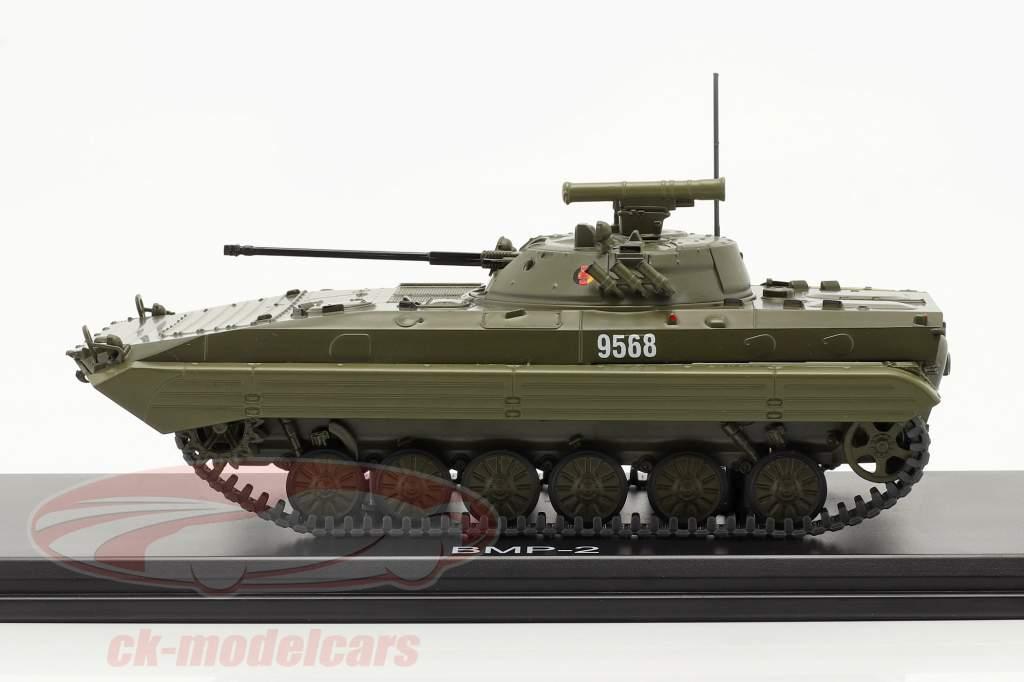 BMP-2 tank NVA (DDR) mørk oliven 1:43 Premium ClassiXXs
